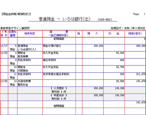 預金出納帳から入力できる取引(その2)|青色申告ガイダンス(株式 ...
